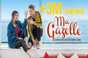 """سلمى رشيد نحتفل بوصول أغنيتها """" ماكازيل """" لـ 3ملايين مشاهدة"""