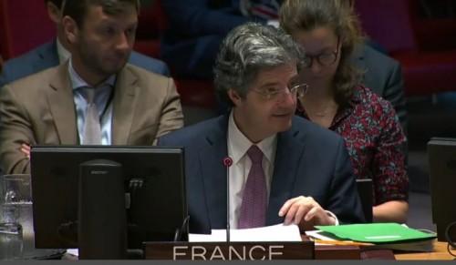 مندوب فرنسا بالأمم المتحدة: الهجوم الإرهابي الحوثي على مطار أبها غير مقبول وندينه بشدة