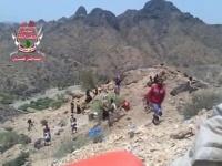 القوات الجنوبية تسيطر على مواقع استراتيجة هامة في ماوية ومصرع عشرات الحوثيين