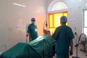 بدعم إماراتي.. إجراء أكثر من 6000 عملية جراحية بمستشفى المواسط في تعز (صور)