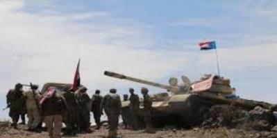 عملية هجومية للقوات الجنوبية تحصد قتلى وجرحى وأسرى حوثيين في جبهة حجر
