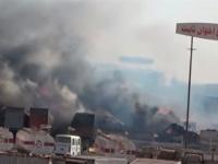 بقذائف الهاون..مليشيات الحوثي تقصف مجمع إخوان ثابت بالحديدة