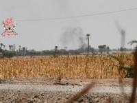 مليشيا الحوثي تجدد قصفها لمواقع العمالقة في التحيتا