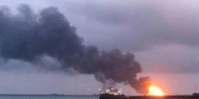 """البحرية الأمريكية: انفجار ناقلة النفط """" كوكورا كريسوس """" ناتج عن لغم ممغنط"""