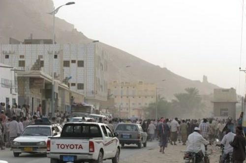 إصابة مواطن برصاصة مجهولة في مديرية القطن