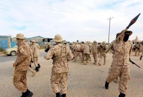 انشقاق كتيبة تابعة لمليشيا الوفاق وانضمامها للجيش الوطني الليبي