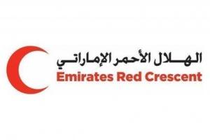الهلال الإماراتي يسير قافلة مساعدات غذائية لأهالي حجر بالضالع