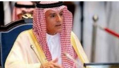 وزير الخارجية السعودي: على قطر وقف حملاتها الإعلامية المغرضة