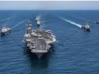 إرسال قطع بحرية أميركية إلى موقع حطام طائرة مسيرة في المياه الدولية