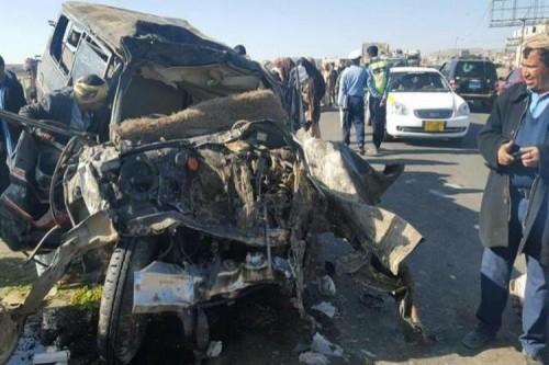 مصرع 17 شخصًا وإصابة أكثر من 200 في حوادث مرورية بصنعاء