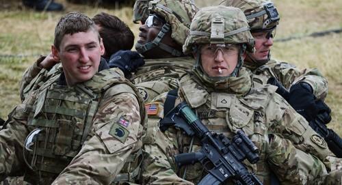 الرئيس الأمريكي: جيشنا متأهب ومستعد للرد على التصرفات الإيرانية