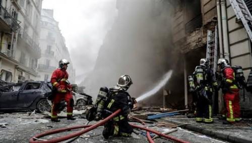 عاجل..حريق في مبنى وسط باريس يودي بحياة ثلاثة أشخاص
