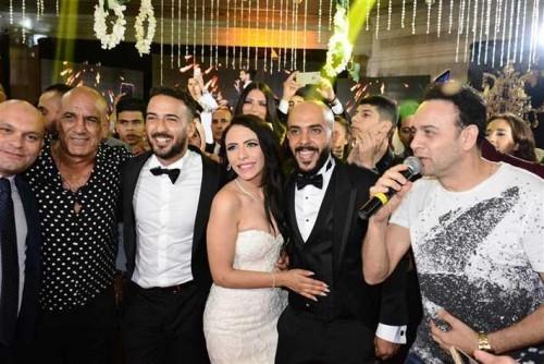 نجوم الفن المصري يحتفلون بزفاف محمد مهران ومي عبد الحافظ (صور)