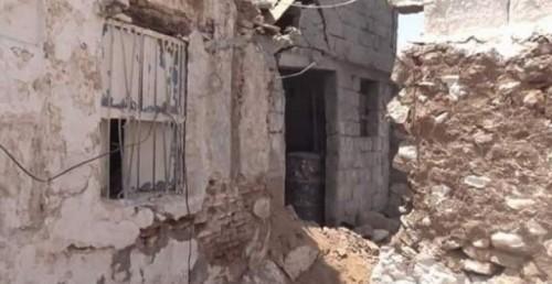 قصف حوثي لمنازل المواطنين في الجبلية بالحديدة