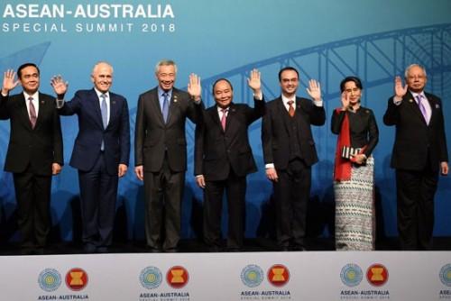 """قادة دول جنوب شرق آسيا يفتتحون قمة """" آسيان """" فى بانكوك"""