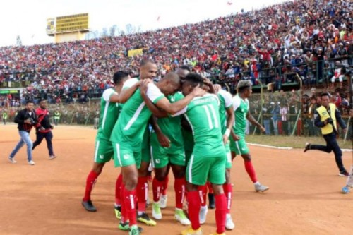منتخب مدغشقر يظهر لأول مرة بأمم أفريقيا أمام غينيا