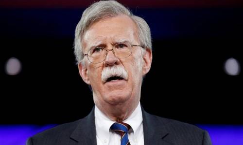 بولتون: مزيد من العقوبات الأمريكية على إيران ولن تحصل على سلاح نووي أبدا