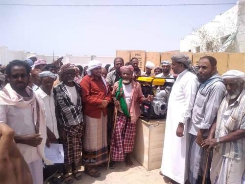 توزيع 150 مضخة زراعية للمتضررين من إعصار لبان بالمسيلة