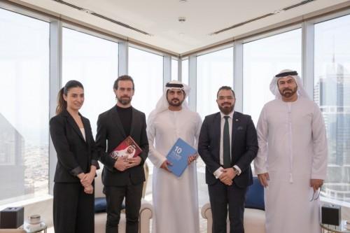"""دبي ترحب بمؤسس """" تويتر """".. والشيخ حمدان: جسران للتفاهم والتقارب بين الأمم"""
