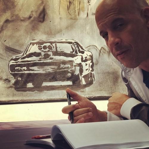 فان ديزل يبدأ تصوير Fast & Furious 9 (فيديو)