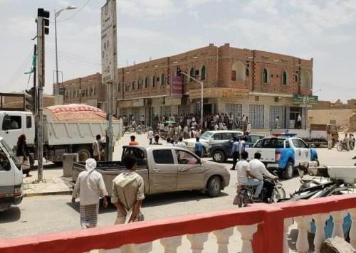 انفجار قنبلة في شارع الجزائر بمدينة سيئون