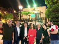 سوزان نجم الدين تستمتع بوقتها بصحبة نجوم سوريا (صورة)