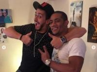 هكذا روج محمد رمضان لأغنيته الجديدة مع سعد لمجرد (فيديو)