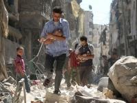 مقتل 9 مدنيين بينهم مسعفون فى إدلب السورية بقصف من النظام