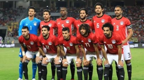 الهدف الثاني لمنتخب مصر برجل محمد صلاح