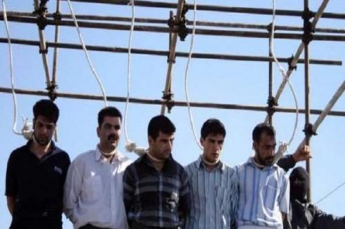 إعدام جماعي لـ 5 سجناء في إيران