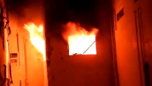 شاهد.. مليشيا الحوثي تقصف وتدمر مستشفى 22 مايو بالحديدة