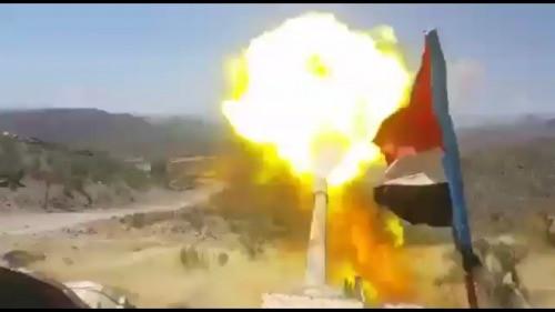مواجهات عنيفة بين القوات الجنوبية ومليشيا الحوثي شمال الضالع