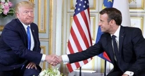 الرئيس الفرنسي: سأحاول إقناع ترامب بتعليق فرض العقوبات على إيران