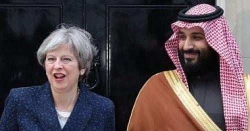ماي تجتمع بولي العهد السعودي لبحث تهدئة الوضع فى الخليج واليمن 
