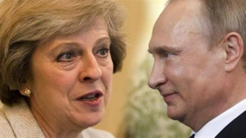 بوتين: الاجتماع مع ماي سيساهم في تجاوز خلاف الجاسوس سكريبال