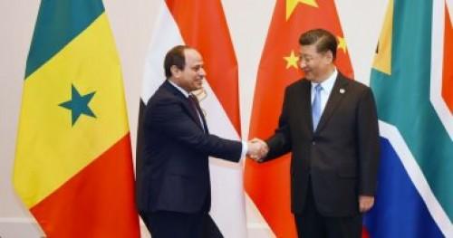الرئيس المصري يعقد لقاء ثنائيا مع الأمين عام للأمم المتحدة