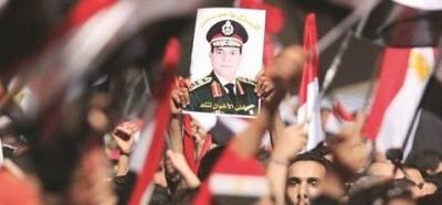 """هاشتاج """"#السيسي انقذ مصر بثورة شعبية"""" يتصدر تويتر.. ومغردون يصفونها بأعظم الثورات"""