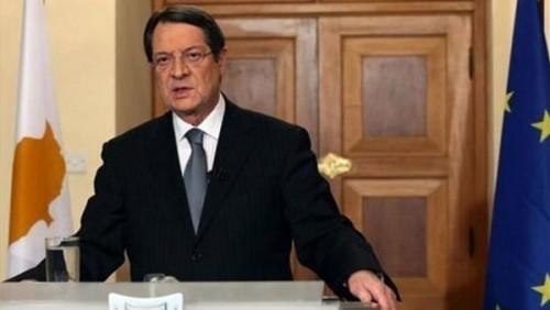الرئيس القبرصي: مستعدون للدخول في جولة جديدة من المحادثات مع تركيا