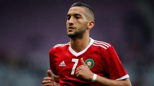 زياش قد يغيب عن مواجهة المغرب وجنوب إفريقيا