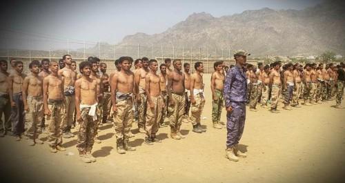 إقبال كبير من أبناء مديريات لحج على الالتحاق بمعسكرات الضالع