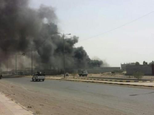 قصف عنيف من مليشيا الحوثي لمواقع القوات المشتركة شرق الحديدة