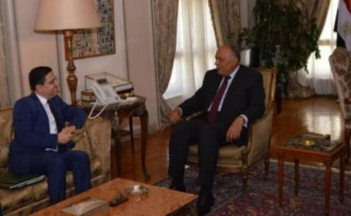 الخارجية المصرية: ملك المغرب يبعث برسالة إلى الرئيس المصري