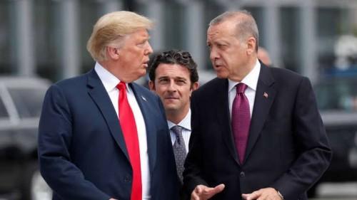 الجبوري: ترامب يسخر من أرودغان والوفد التركي ويصفهم بالممثلين من هوليود
