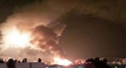 عاجل.. انفجار هائل يهز مدينة وهران بالجزائر