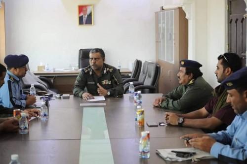 اجتماع لقادة الأجهزة الأمنية بالمهرة (تفاصيل)