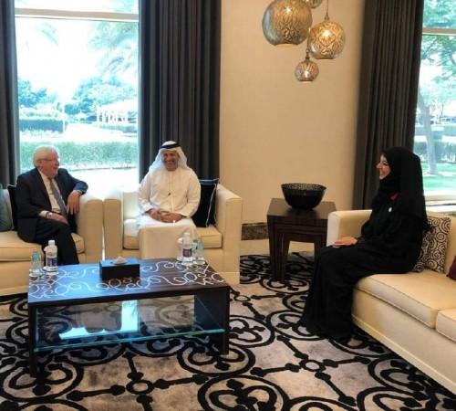 المبعوث الأممي لليمن يبحث في الإمارات خطوات تنفيذ اتفاق ستوكهولم