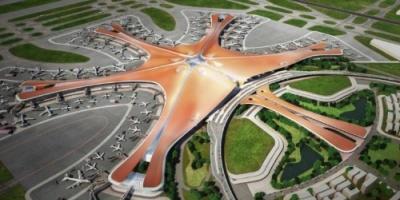 """بمساحة 140 ملعبًا لكرة القدم.. """"مطار بكين الجديد"""" يصعد بمحركات البحث"""