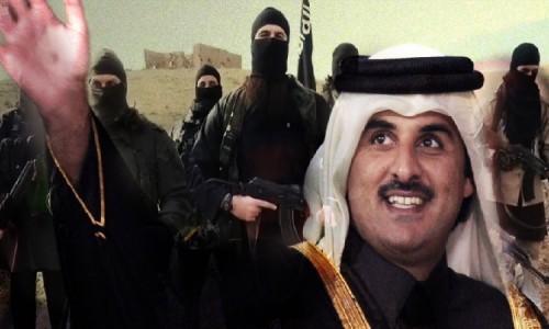 """بعد دعمها المالي المشبوه.. """"قطر والإرهاب يداً واحدة"""" يتصدر السوشيال ميديا"""