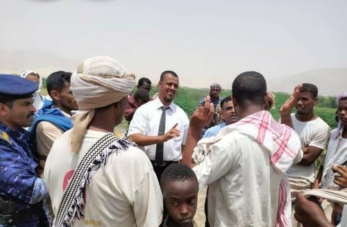مناقشة مشكلات المستثمرين والأهالي في مناطق امتياز الرمال وخام البازلت ببروم ميفع