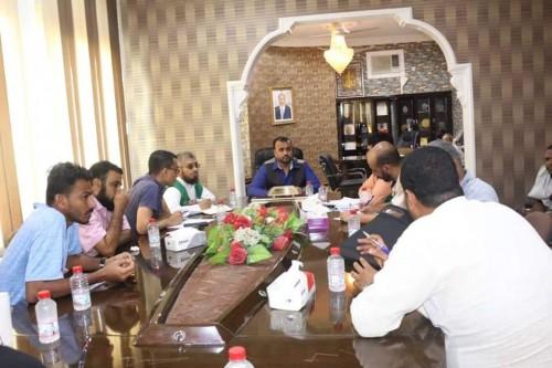اجتماع هام بالمهرة لمناقشة تنفيذ المشروعات الممولة من السعودية